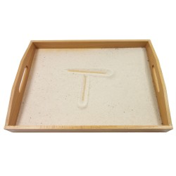 Sandpaper Letters Tracing Tray