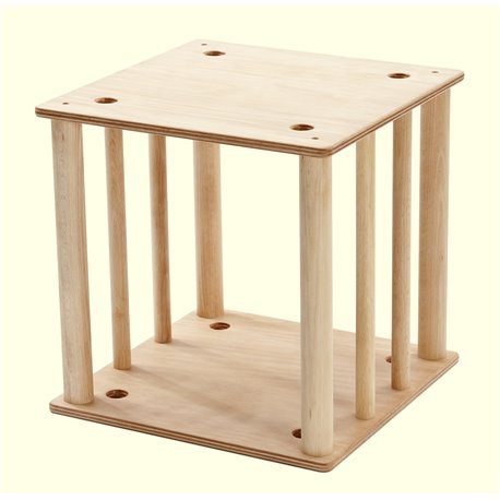 Beaver-Cube with 8 Bars