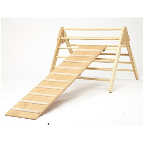 Hen-house ladder / slide combination, large