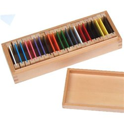 Colour tablets 2nd box (wood)