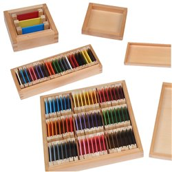 Colour tablets SET 1st, 2nd and 3rd boxes (wood) (Save over £5)