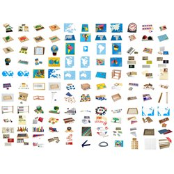 School Starter Set - over 120 items, save £322 (£250 + £72 voucher)