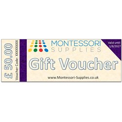 Gift Voucher £50 (no VAT)