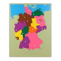 Puzzle Map - Germany