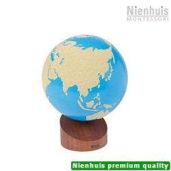 Globe Of Land & Water: Sandpaper, 16cm (own stock)