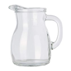 Pouring jug, 250ml, glas