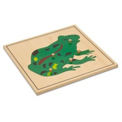 Jigsaw puzzle - Frog