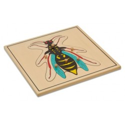 Jigsaw puzzle - Wasp