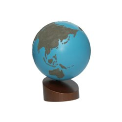 Globe, sand - water and land (budget), 16cm