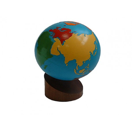 Globe - continents