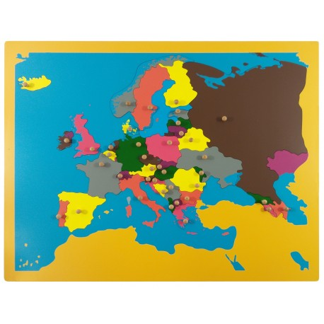 Jigsaw puzzle europe individually removable european countries teach jigsaw puzzle europe gumiabroncs Image collections