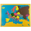 Jigsaw Puzzle Map - Europe