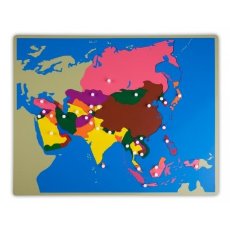 Jigsaw Puzzle - Asia