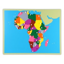 Jigsaw Puzzle Map - Africa