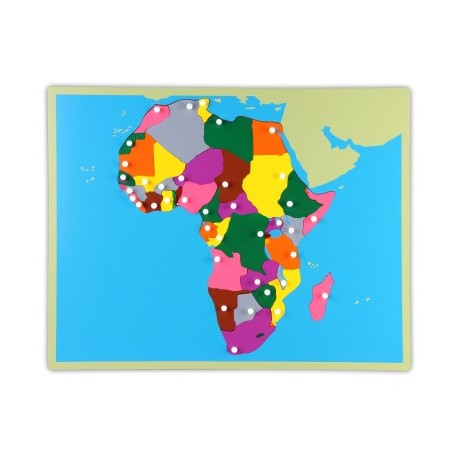 Jigsaw Puzzle - Africa