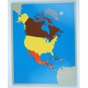 Jigsaw Puzzle - North America