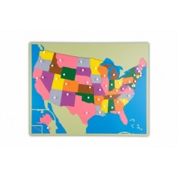 Jigsaw Puzzle Map - USA