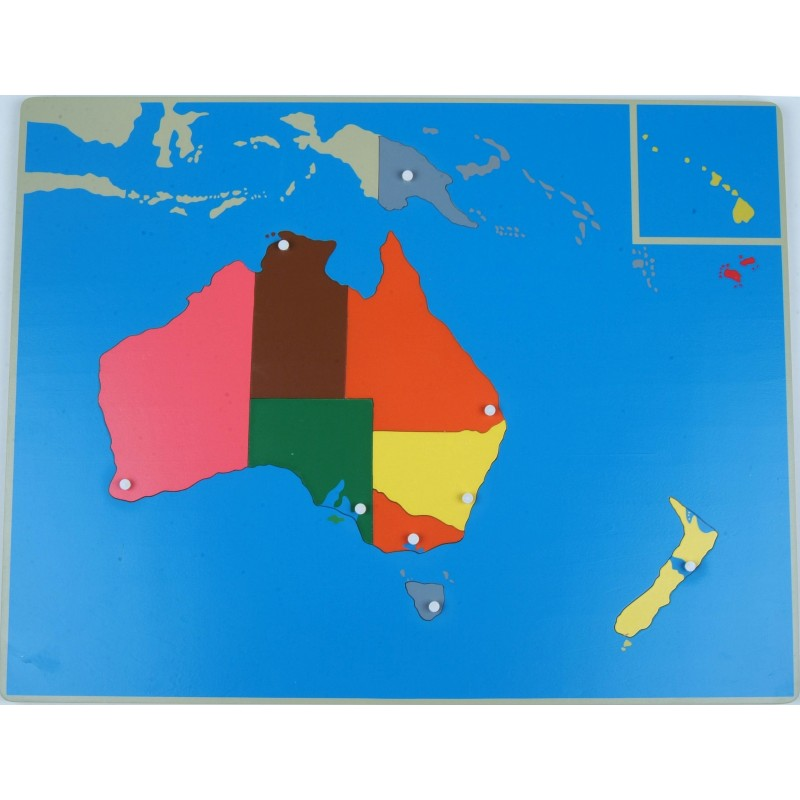 Map Of Australia Jigsaw Puzzle.Jigsaw Puzzle Map Australia