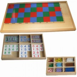 Large multiplication board (3 parts)