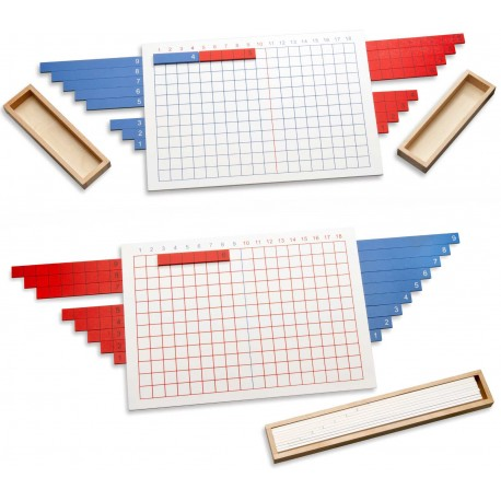 Strip boards addition & subtraction