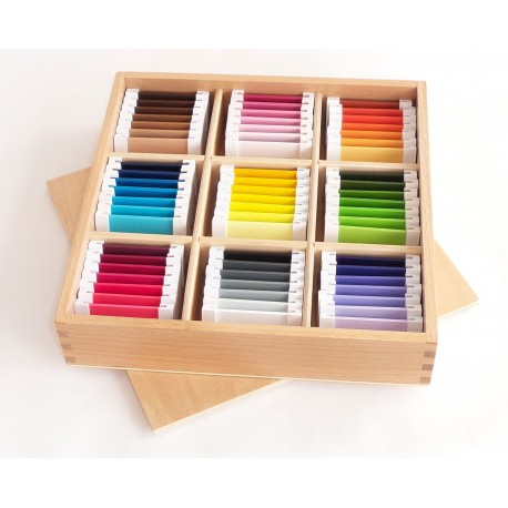 Colour tablets 3rd box (wood)