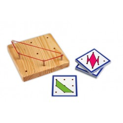 Peg Board 3 x 3 + exercise cards