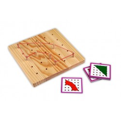Peg Board 5 x 5 + exercise cards