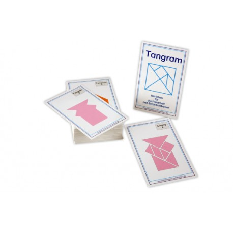 Tangram exercise cards