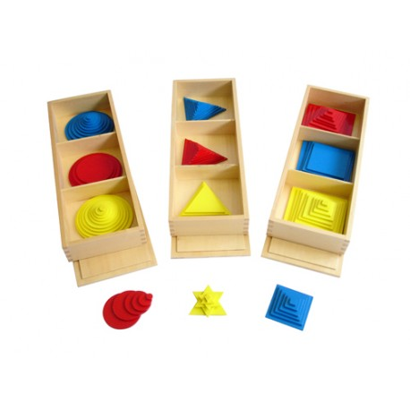 Set of Triangles, Circles and Squares