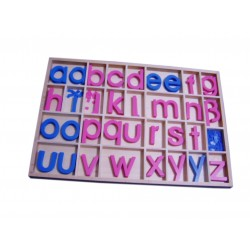 Movable alphabet - Lower case Letters (budget)