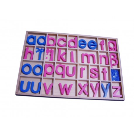 Movable alphabet - Small Letters (budget)