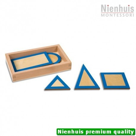 Geometric Plane Figures With Box