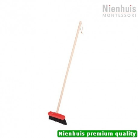 Indoor Broom: Soft Black