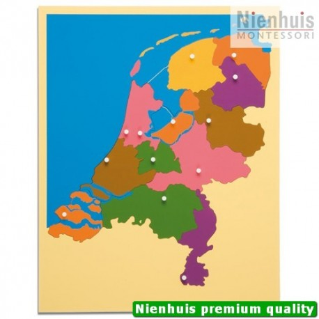 Puzzle Map: The Netherlands