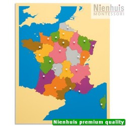 Puzzle Map: France