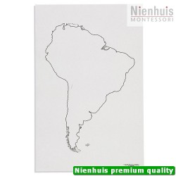 South America: Outline (50)