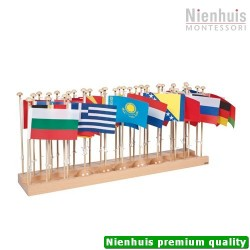 Flag Stand Of Europe