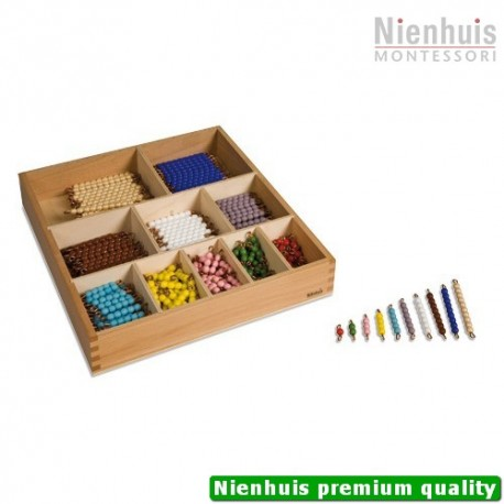 Decanomial Bead Bar Box: Individual Beads Glass