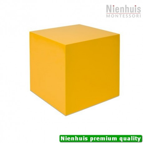 One Yellow Cube: (27 x 27 x 27 cm)