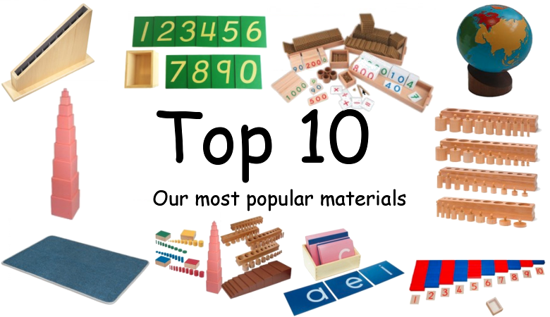 Top 10 - our most popular materials