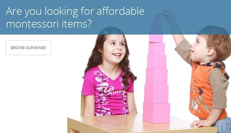 Affordable Montessori materials
