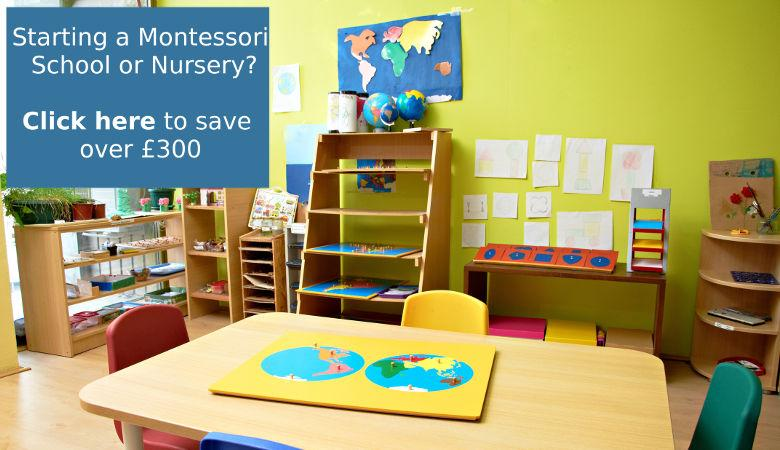 Setting up a Montessori Nursery?